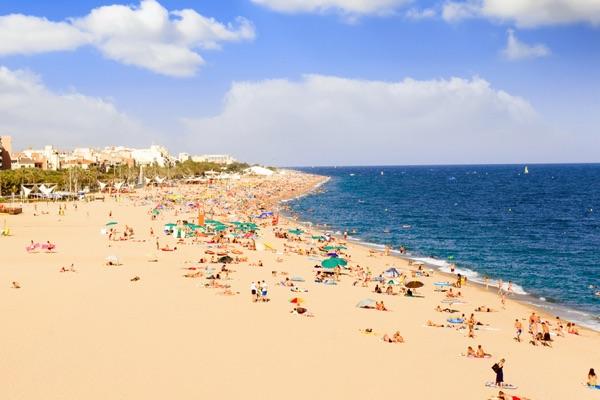 Calella Beach Barcelona 1