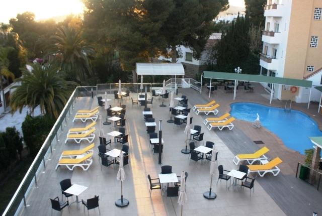 Nerja Athle package hotel terrace