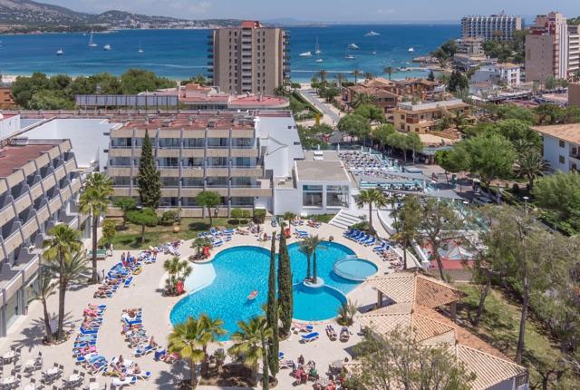 Overview Rosa del Mar & Spa
