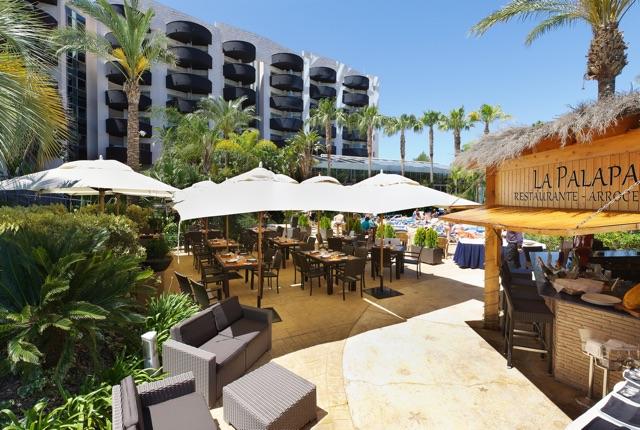 Hotel Alblir Playa outdoor
